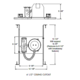 TC1 4 Inch Non-IC New Construction Housing -  /