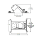 TC928 6 Inch Slope Non-IC New Construction Housing -  /