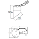 TC928R 6 Inch Slope Ceiling Non-IC Remodel Housing -  /