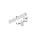 Trac 12 TL4000 Extruded Aluminum Fascia -  /
