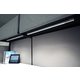 UCX Warm White LED Undercabinet Light w/Power Cord - Metallic Black /