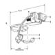Lytecaster 1000LVR 5 In Non-IC Remodel Frame-In Kit 12V -  /