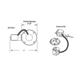 Lytecaster 1003R 5 In Non-IC Remodel Frame-In Kit 120V -  /