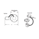 1003R Lytecaster 5 Inch Non-IC Remodel Frame-In Kit -  /