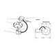 Lytecaster 1103R 6.75 In Non-IC Remodel Frame-In Kit 120V -  /