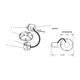 Lytecaster 1103R 6.75 Inch Non IC Remodel Frame-In Kit -  /
