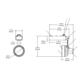 Lytespan Alcyon Glass Ring MR16 Track Head -  /