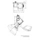 Lytespan 8201 Par-Tech Low Profile Track Head -  /
