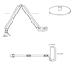 Edge Double Arm Desk Lamp -  /