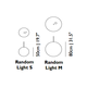 Random Light LED Pendant -  /