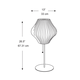 Pear Lotus Table Lamp -  /