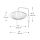 Saucer Wall Sconce -  /