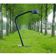 The Outsider Indoor/Outdoor Floor Lamp - Black /
