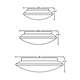 Sola Flush Mount Ceiling -  /