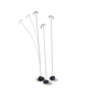 Sway Floor Lamp - Silver / White
