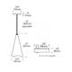 T-Trak 1-Circuit Ovation Pendant -  /