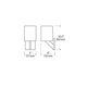 Sable Square Wall Sconce -  /
