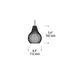 Freejack Avery Pendant -  /