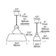 Stratton LED Pendant -  /