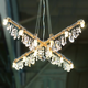 Tribeca X-Chandelier -  / Black