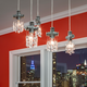 Tribeca Single Bulb Pendant -  / Black