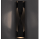 Twist Outdoor Wall Sconce - Bronze /