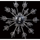 Villa Chandelier - Chrome / Clear Crystal