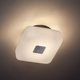 Vogue Wall/Ceiling Light - Brushed Nickel / Etched Opal
