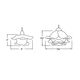 QP Brittany Artisan LED Pendant -  /