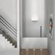 Zero Amica LED Wall Sconce - Matte White /