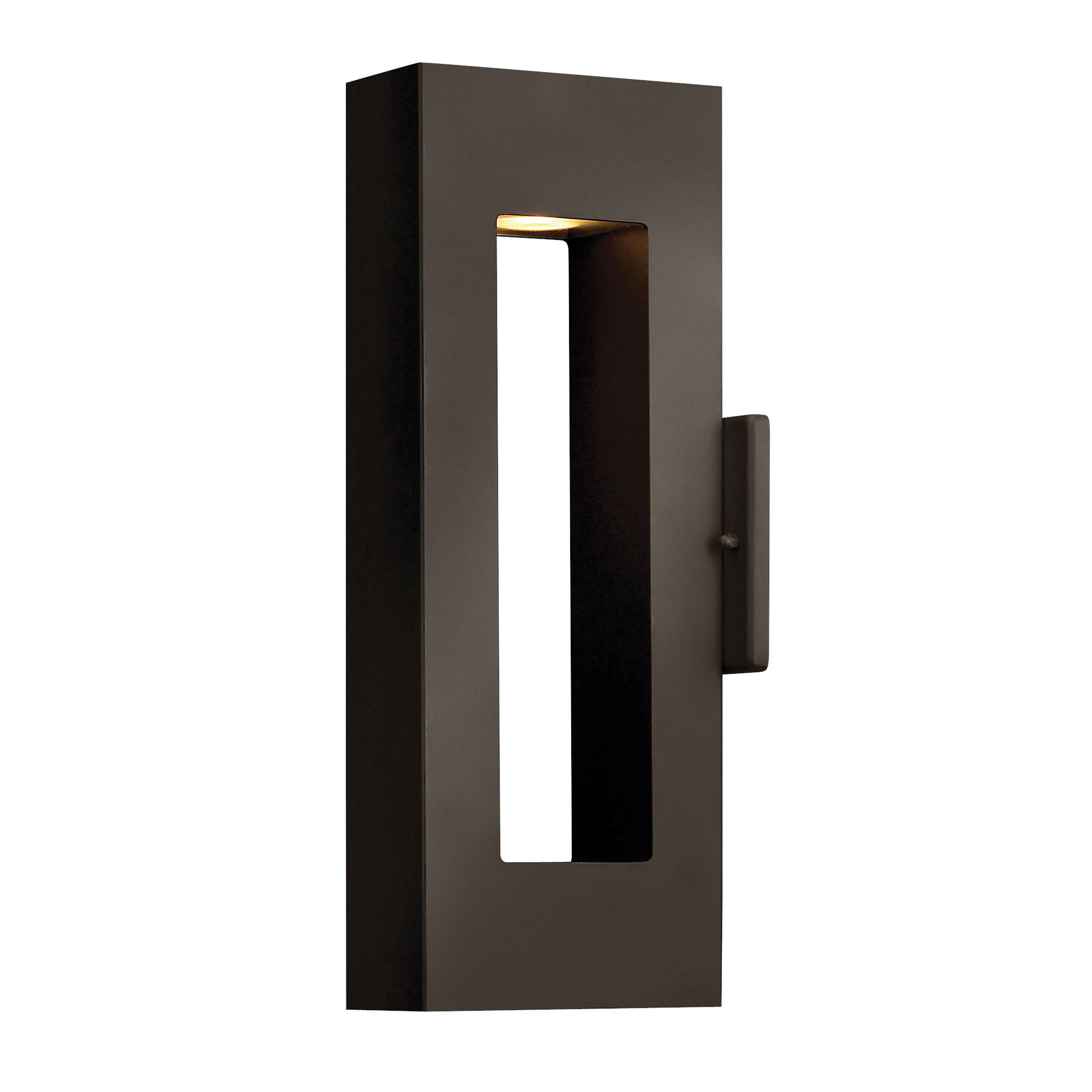 Atlantis led outdoor wall light by hinkley lighting 1640bz led