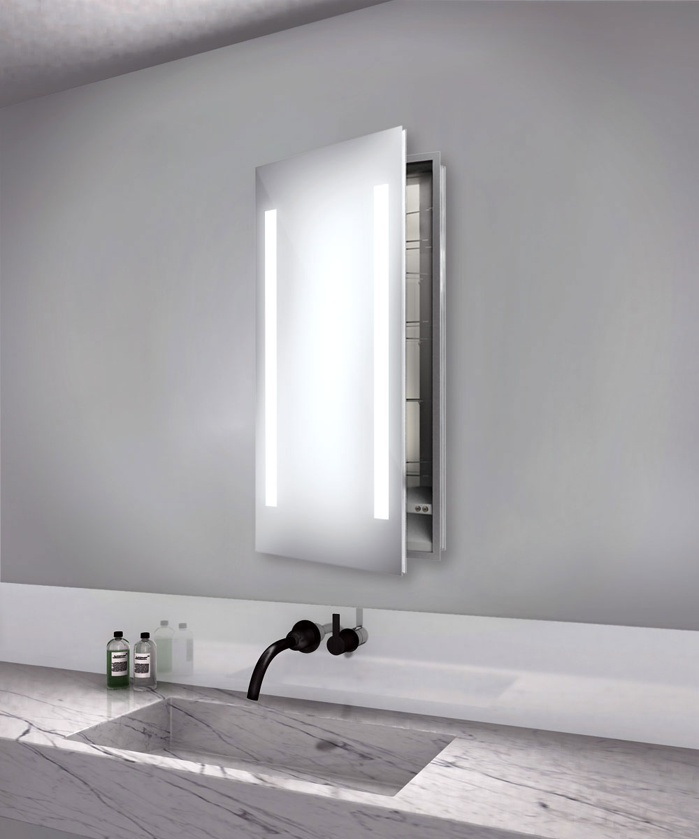 cabinet by electric mirror asc1940 bathroom cabinets with lights