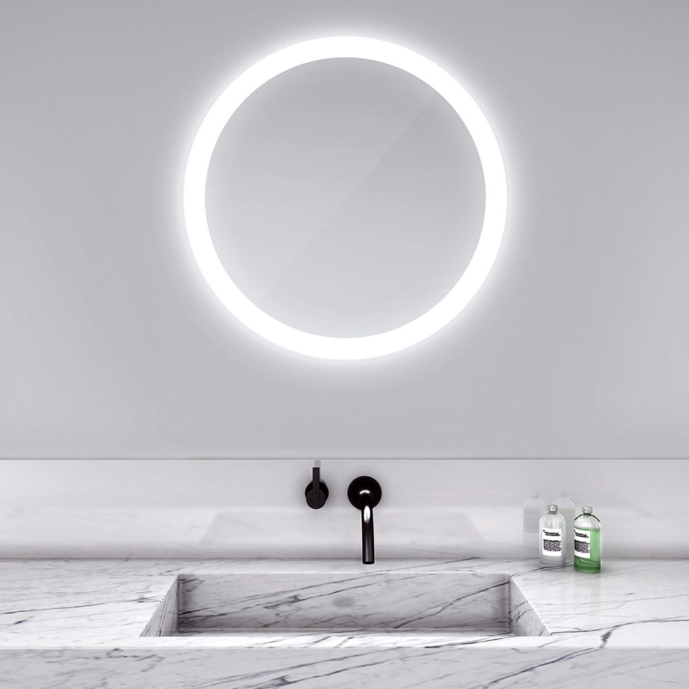 Bathroom mirrors with led lights - Trinity Lighted Mirror