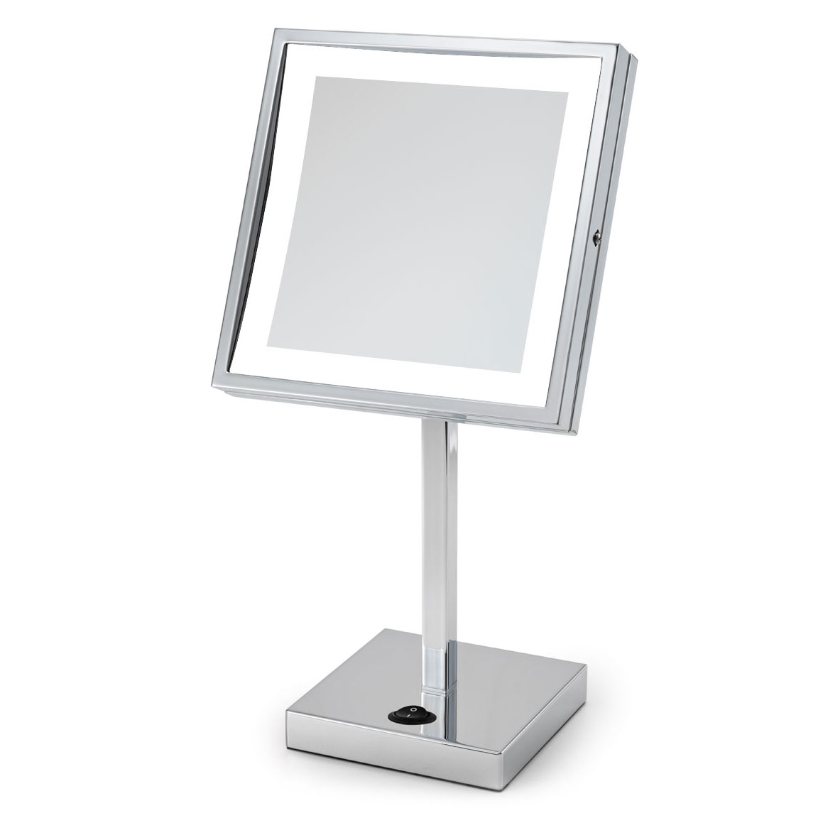 Wall Mounted Makeup Mirror With Lights wall-mounted makeup mirrorelectric mirror | emhl88sil-ch