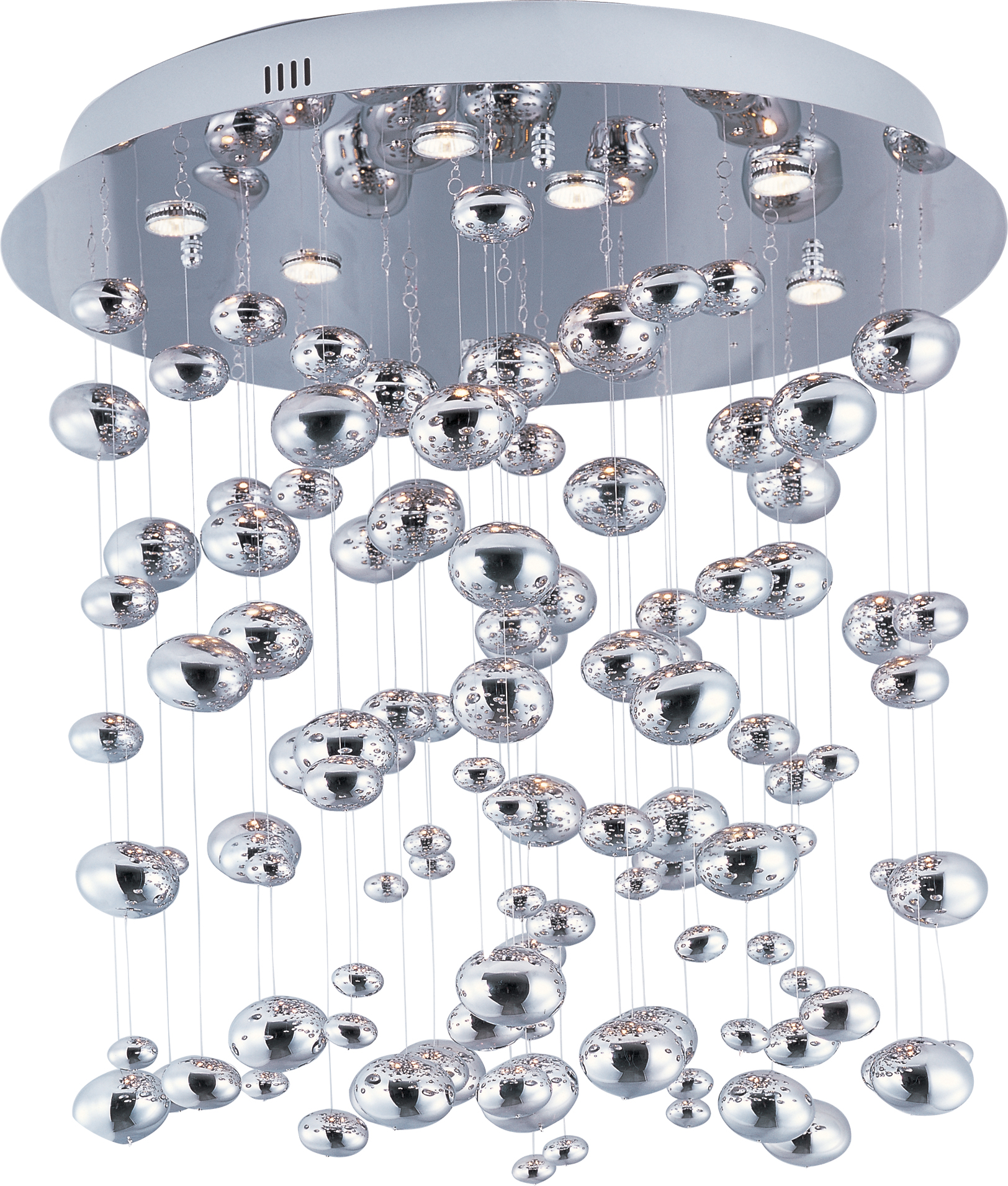 Dew Flush Mount Chandelier By Maxim Lighting