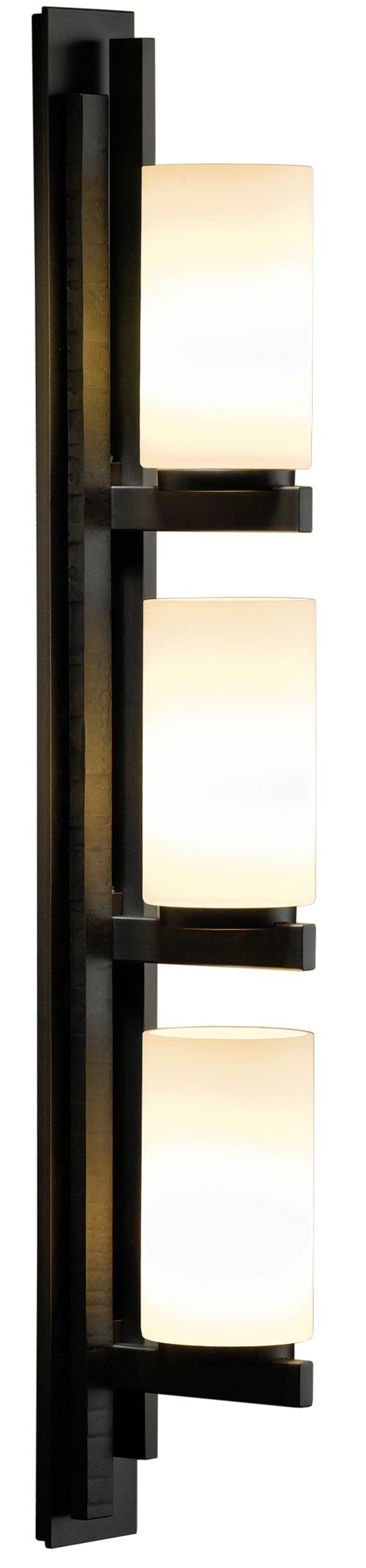 Right vertical 3 light bathroom vanity light by hubbardton forge ondrian right vertical 3 light bathroom vanity light by hubbardton forge 206309 1030 aloadofball