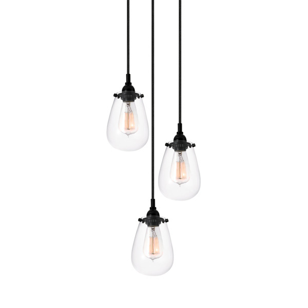 Chelsea Three Light Pendant By SONNEMAN