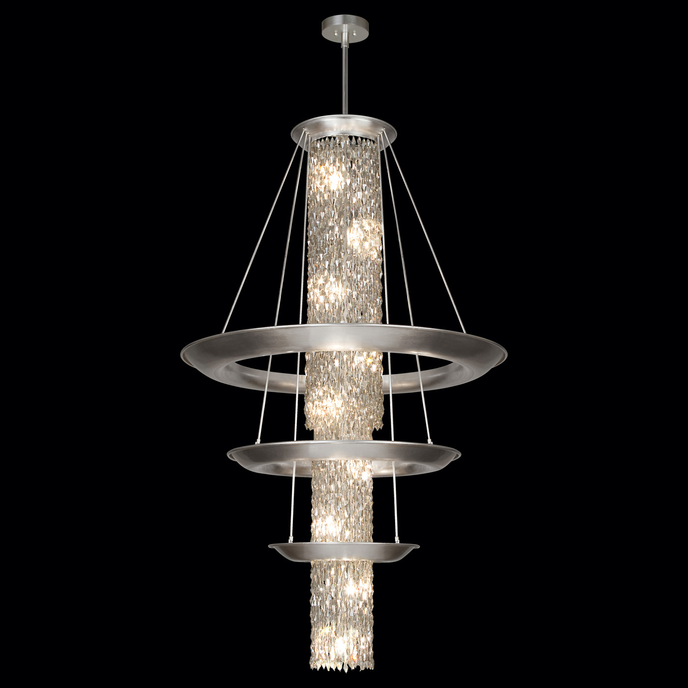 celestial 3 tier pendant by fine art lamps 813340