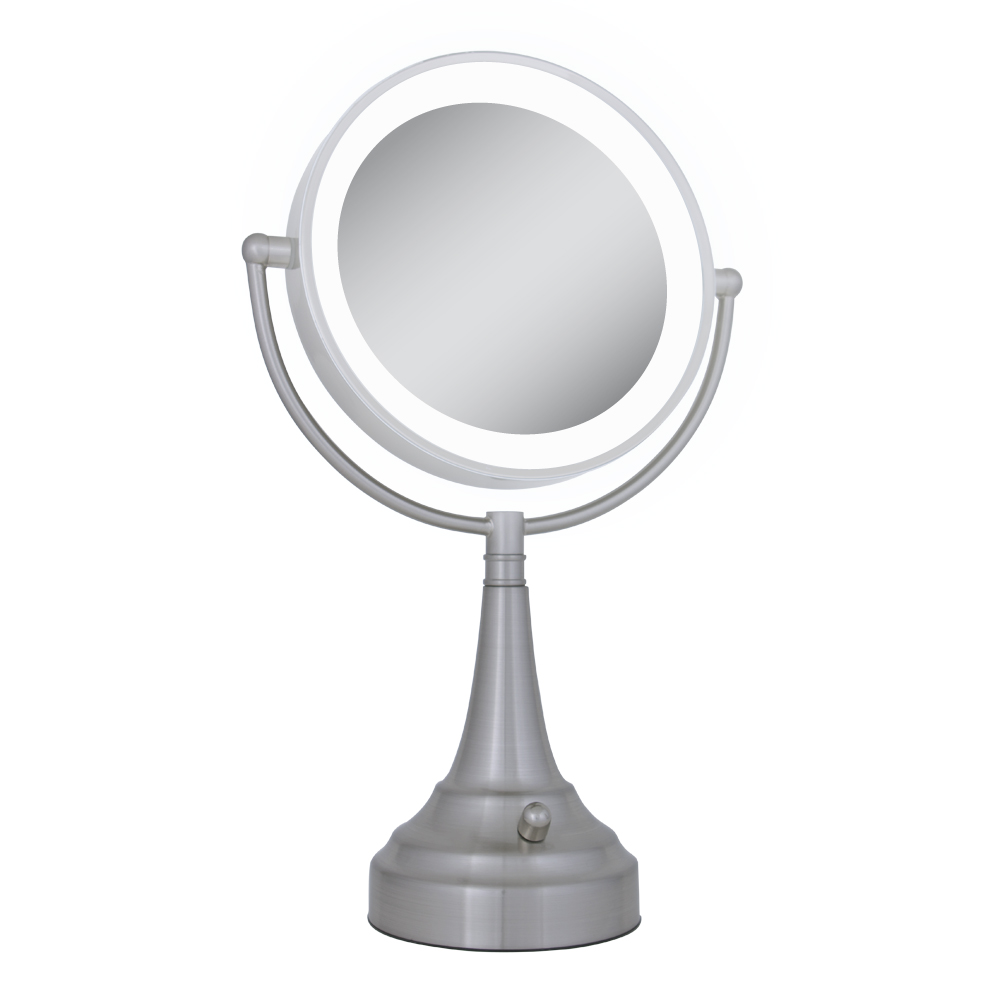 Vanity Mirror With Lights Cordless : Cordless Dual Sided LED Light Vanity Mirror by Zadro LEDSV410