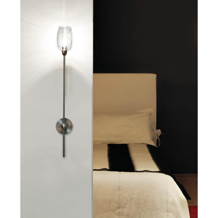 Damasco 1b wall lamp by vistosi apdamasp1bbcni