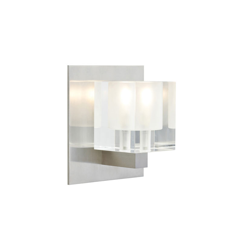 Cube wall sconce by tech lighting 700wscubfs aloadofball Images