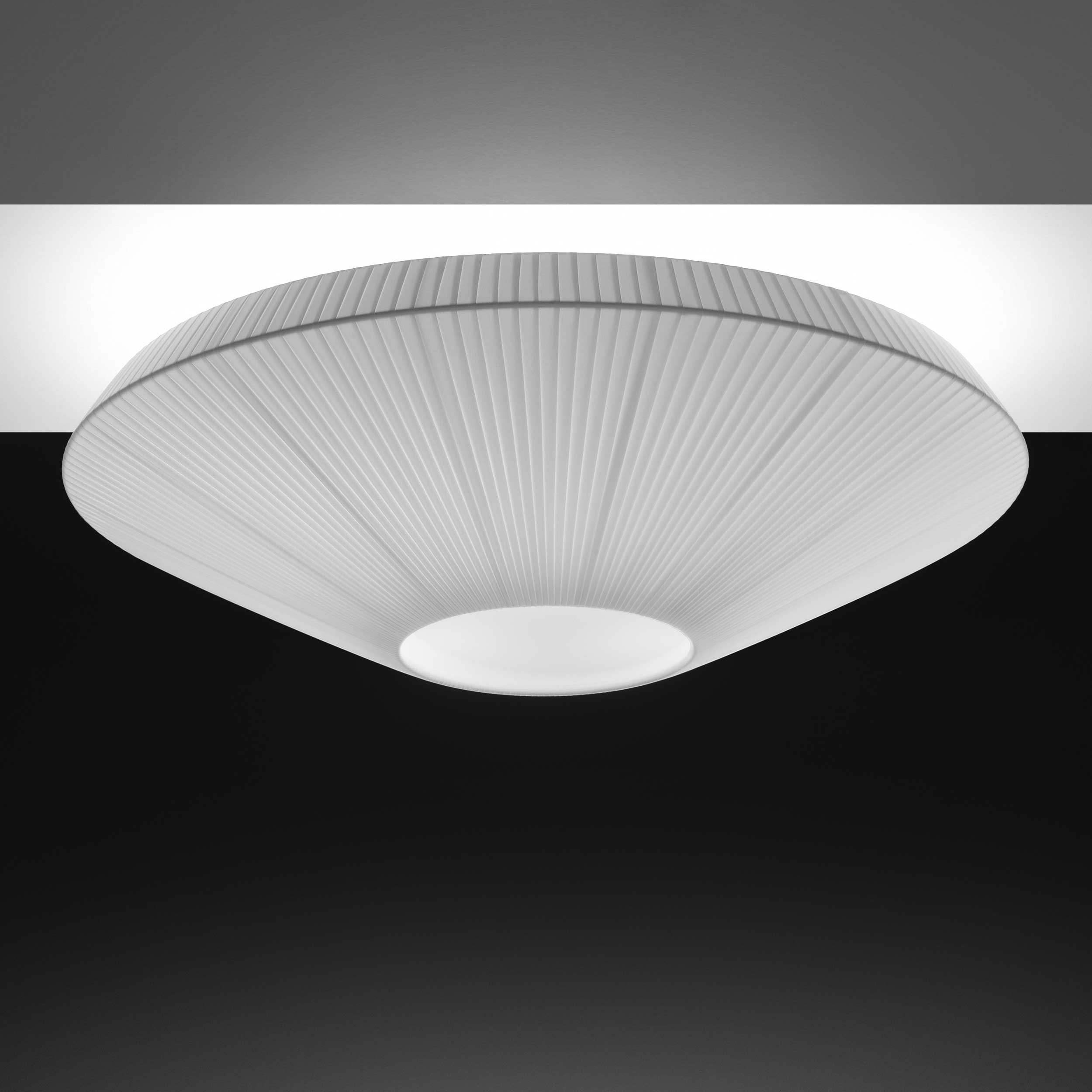siam 02 semi flush ceiling light by bover