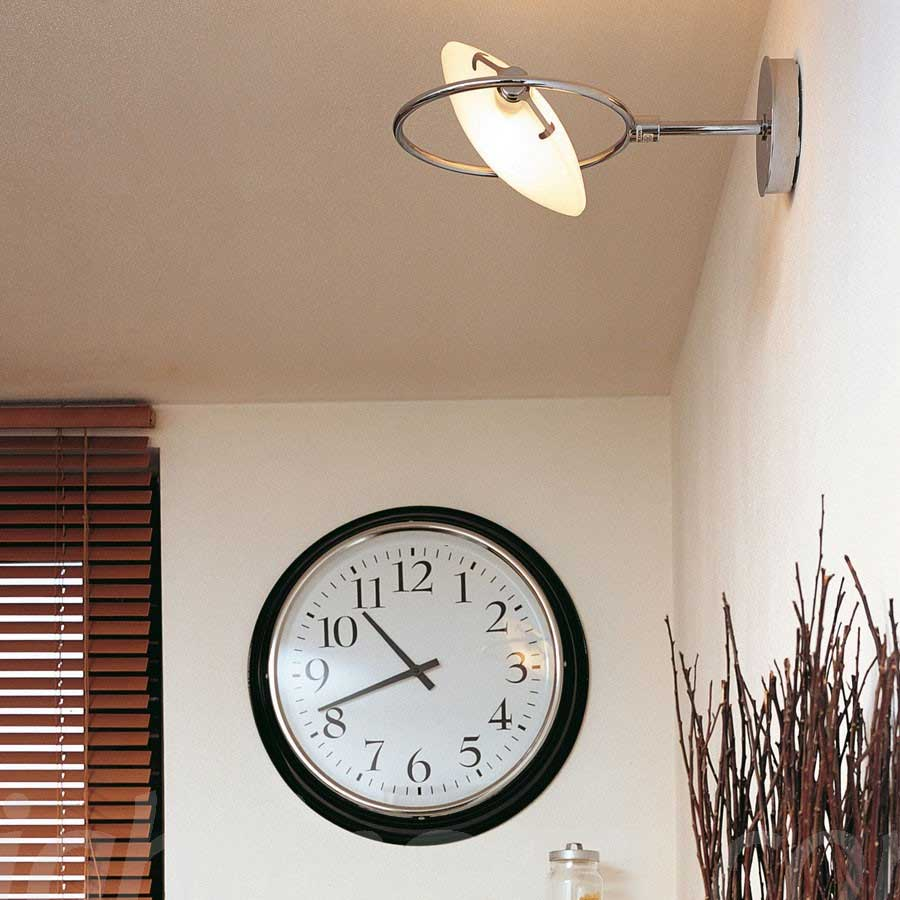Nobi Large Wall Lamp by Fontana Arte | UL3356CR