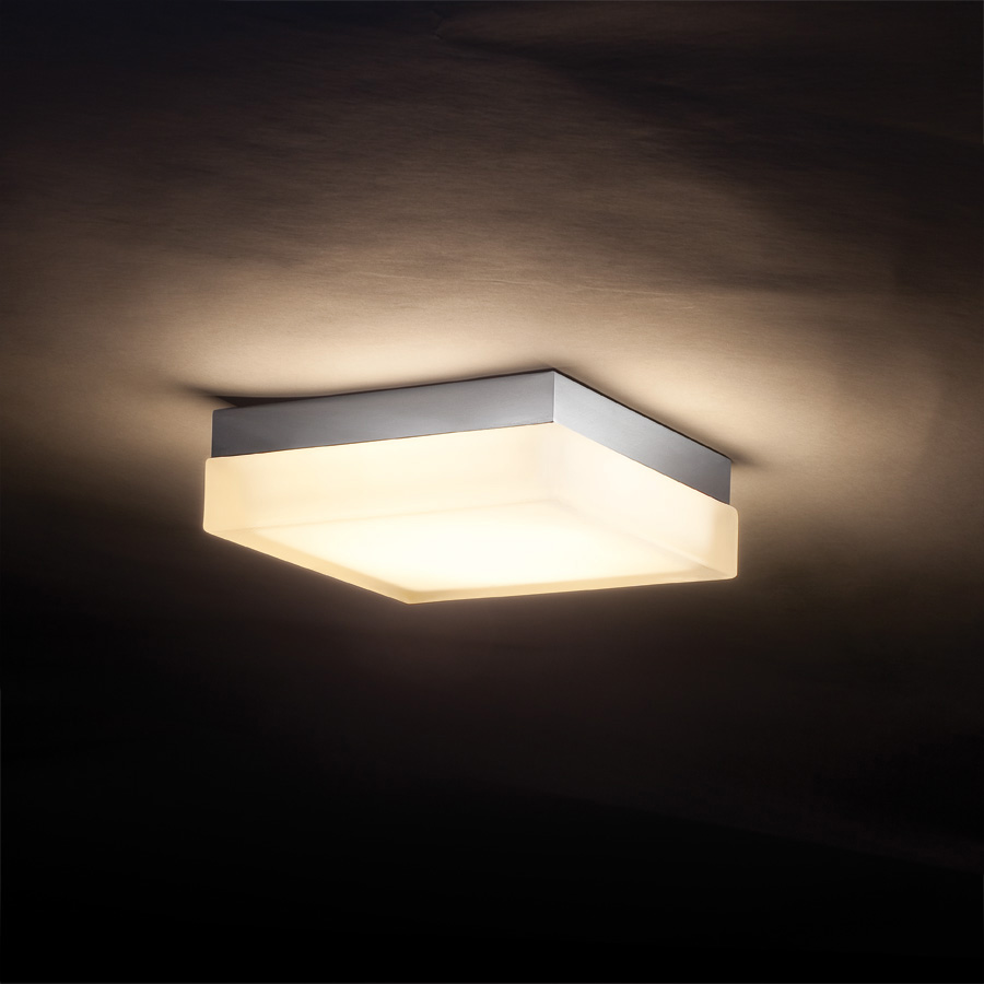Dice Square Wall/Ceiling Light by dweLED by WAC Lighting | FM-4006-30-CH