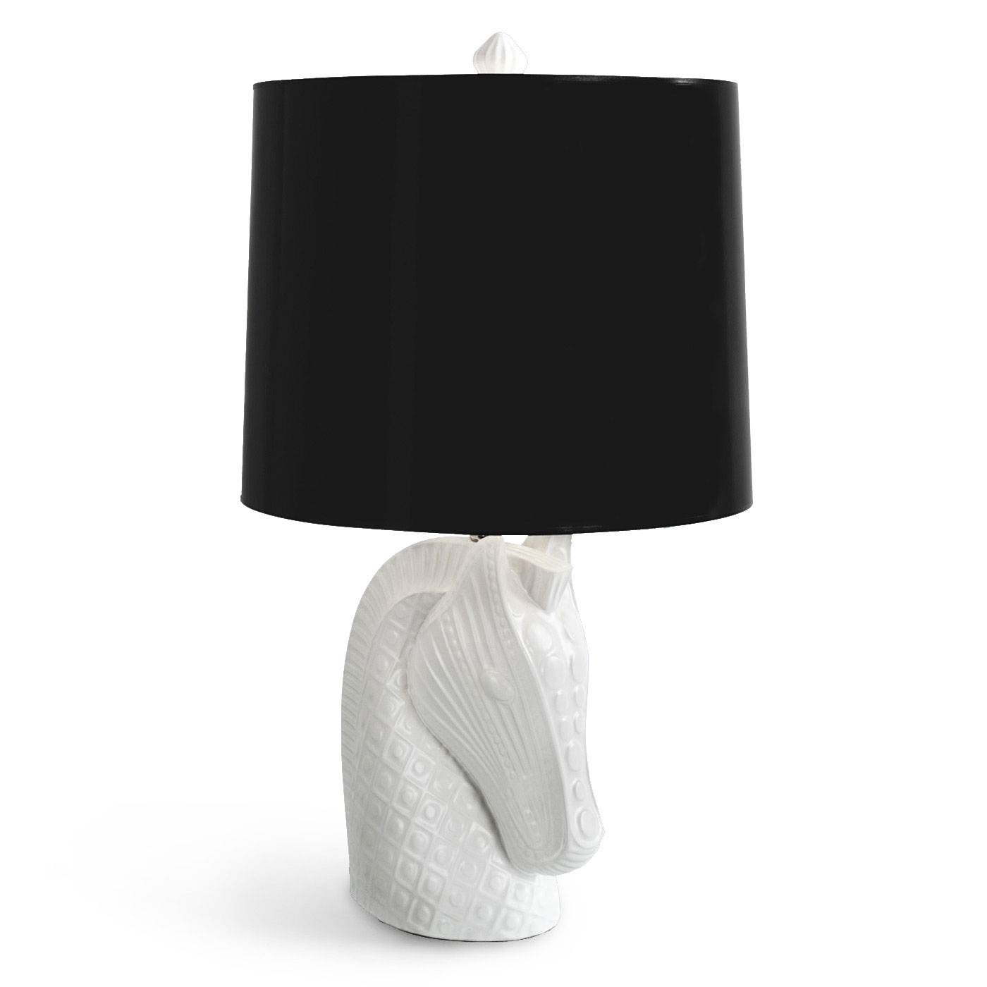Brand-new Horse Head Table Lamp by Jonathan Adler | JA-4309 FR06