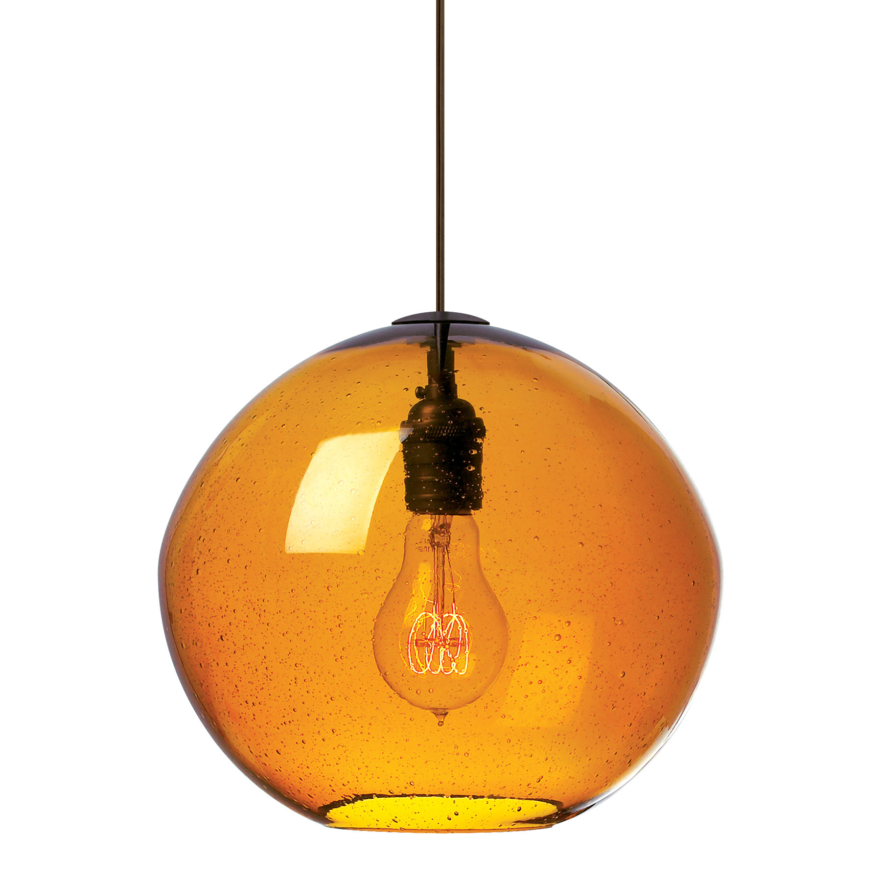 sc 1 st  Lightology & Isla Pendant by LBL Lighting | LF512AMBZLED823