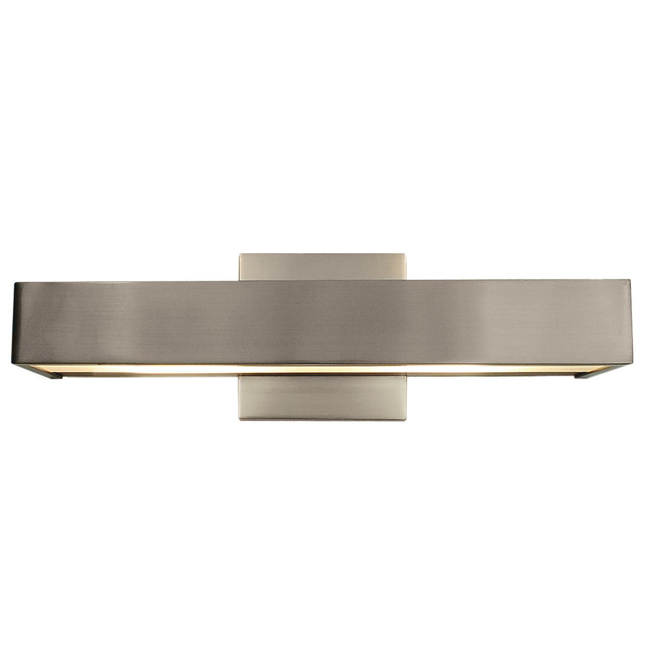 Alpha LED Wall Sconce By Edge Lighting | ALPHA 16 L1 30K SN Part 62