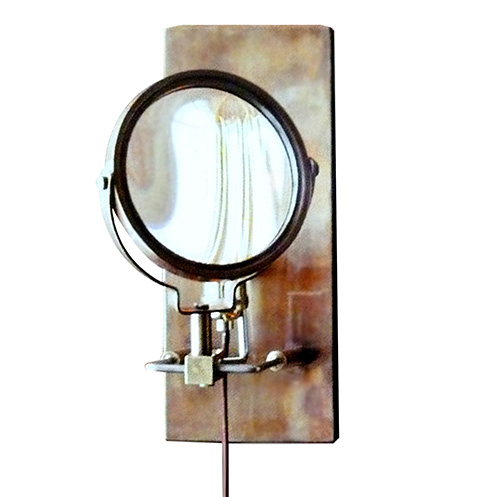 Wall Sconce With Magnifying Glass : Study Magnifying Wall Sconce by Roost ROL240