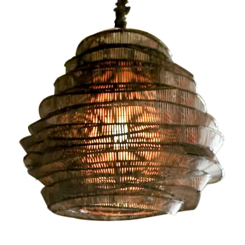 Bamboo Cloud Chandelier: Bamboo Cloud Tall Nimbus Chandelier by Roost | LC-ROL243,Lighting