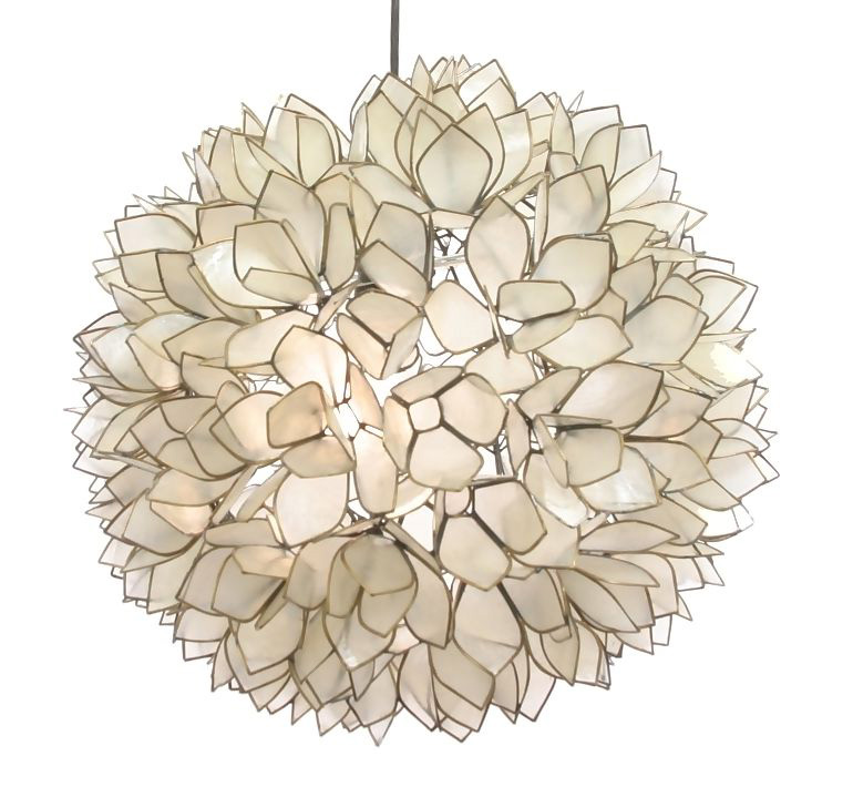 Lotus flower chandelier by roost rol801 aloadofball Images